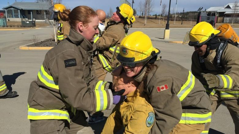 Women's team will be first from Yukon to compete in firefighter challenge