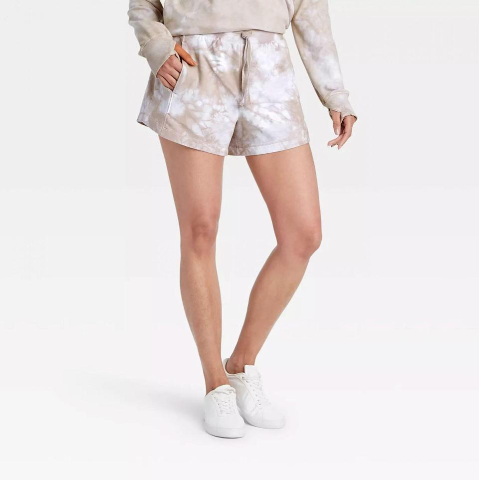 All in Motion High-Rise French Terry Shorts