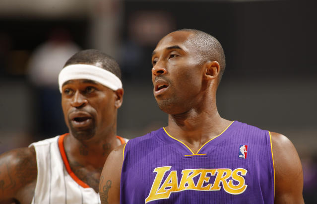 Stephen Jackson is well aware of what Kobe Bryant can do on a basketball court. (Getty Images)