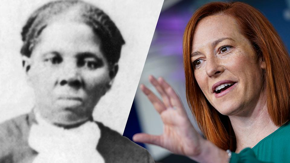 Harriet Tubman and Jen Psaki