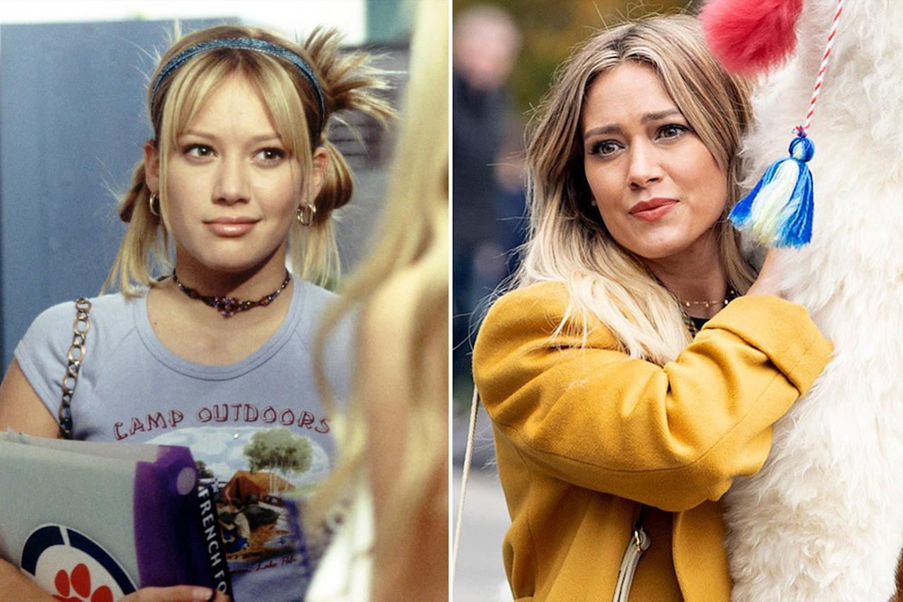 "After picking up early credits in TV movies and videos, <a href=""https://ew.com/tag/hilary-duff/"">Hilary Duff</a> hit the small screen in <em>Lizzie McGuire</em> in 2001, leading the series as its title teenage girl. Duff played McGuire for the length of the show's three-year run, going on to expand her résumé with big-screen turns in <em>A Cinderella Story</em>, <em>Raise Your Voice</em>, <em>The Perfect Man</em>, <em>Material Girls</em>, <em>War, Inc.</em>, <em>Stay Cool</em>, and <em>What Goes Up</em>, as she continued her music career, racking up four studio albums. In recent years, Duff returned to music with 2015's <em>Breathe In. Breathe Out. </em>and had a six-episode arc on <em>Gossip Girl.</em> She's currently starring in <em>Younger</em> as Kelsey Peters... in addition to the revival series.  Because, hello, it absolutely wouldn't be <em>Lizzie McGuire</em> without the titular star! Duff was the first name attached to the revival, reprising her main role. But now, Lizzie's all grown up — she's about to turn 30, living in NYC with the perfect boyfriend. And yes, her cartoon alter ego is also returning.   <a href=""https://ew.com/tv/2019/10/29/hilary-duff-first-look-lizzie-mcguire-revival-series-photos/"">RELATED: Hilary Duff, Disney+ share first look at <em>Lizzie McGuire</em> revival series</a>"