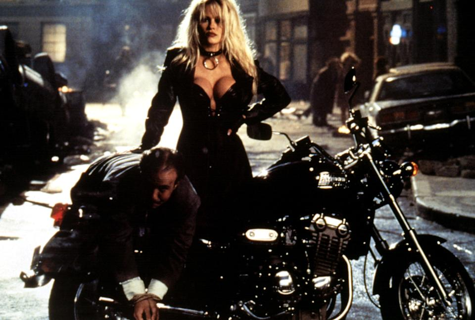Pamela Anderson stars in the 1996 comic book movie, 'Barb Wire' (Photo: Courtesy Everett Collection)