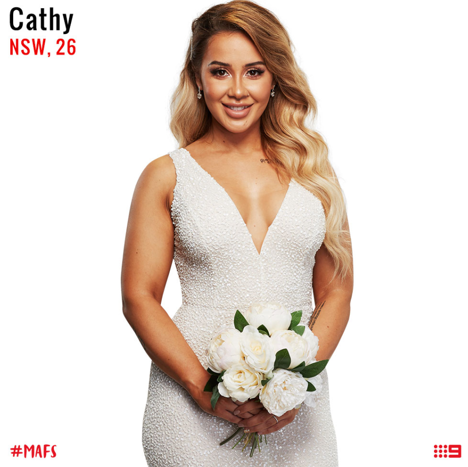 married at first sight bride cathy