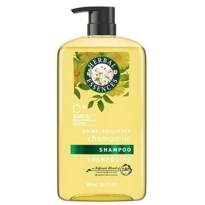 """<p>You can never go wrong with a classic, and that's why we're obsessing over the <span>Herbal Essences Shine Collection Shampoo</span> ($8). From the """"vintage"""" packaging to the original scent, we're having a totally organic experience.</p>"""