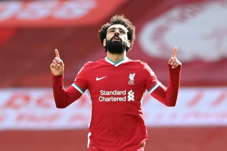 Liverpool's Mohamed Salah has scored 19 Premier League goals this season