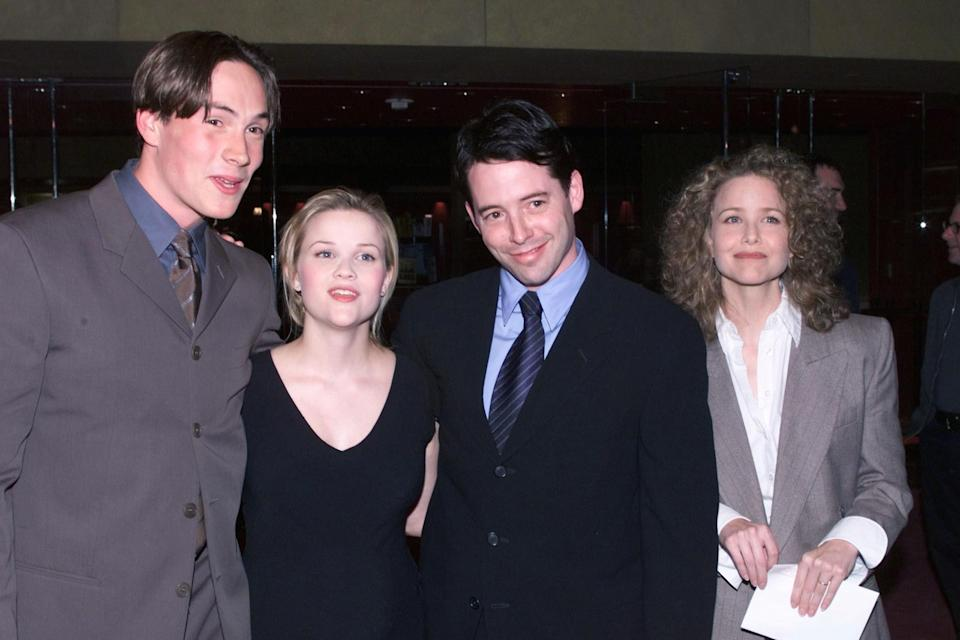 Chris Klein, Reese Witherspoon, Matthew Broderick and Molly Hagan.