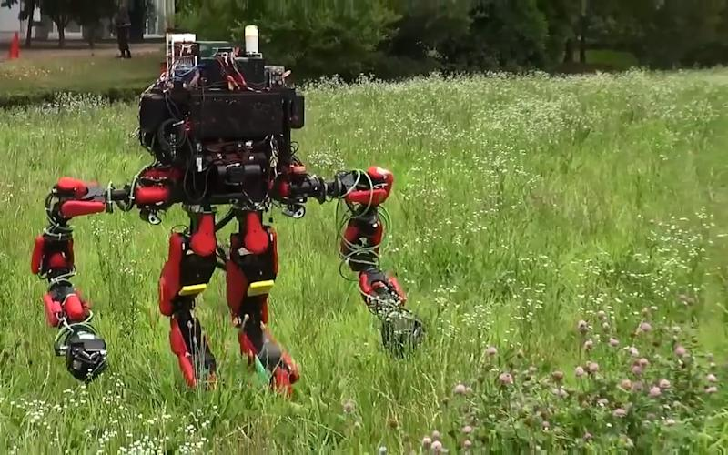Schaft, a University of Tokyo spin-out that created robot legs inspired by humans, will see its employees get help from Google to find jobs - Credit: DARPA