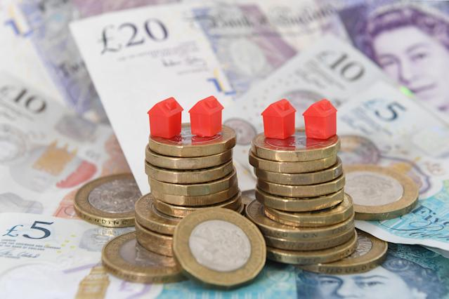 UK property sales are on the rise, according to experts. Photo: PA
