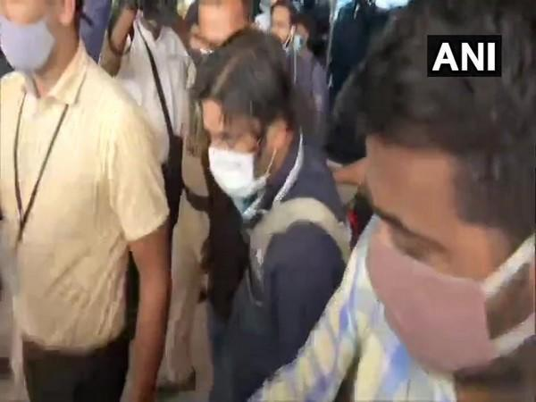 NIA team reaches Patna with 2 LeT terrorists arrested from Hyderabad  (Photo/ANI)