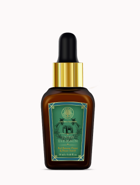 """<a href=""""https://fave.co/2TR7rgw"""" rel=""""nofollow noopener"""" target=""""_blank"""" data-ylk=""""slk:BUY HERE"""" class=""""link rapid-noclick-resp"""">BUY HERE</a> Under Eye Serum – Red Banana Flower & Potato Starch, Rs. 2,375"""
