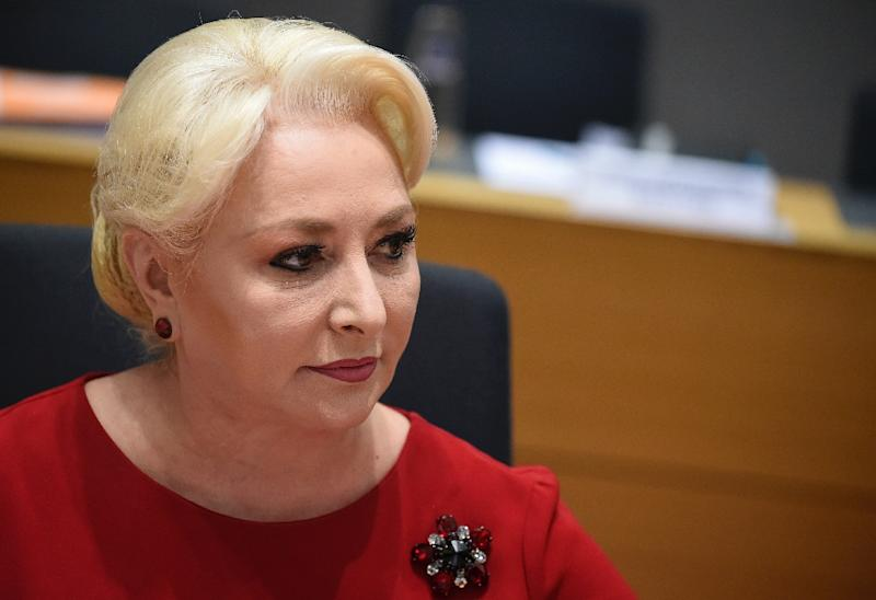 Romanian Prime Minister Viorica Dancila's announcement breaks with the European Union's position on Jerusalem (AFP Photo/JOHN THYS)