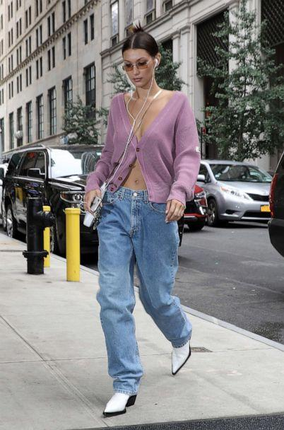 PHOTO: Bella Hadid arrives at her apartment on Sept. 11, 2018, in New York. (Pierre Suu/GC Images via Getty Images FILE)