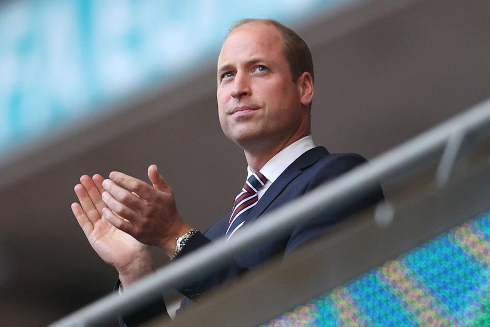 Prince William at the Euro 2020