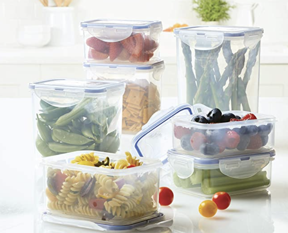 PHOTO: Amazon. LOCK & LOCK Essentials Food Storage lids/Airtight containers, BPA Free