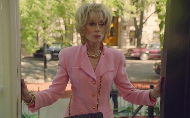 Judith Light as Marilyn Miglin in <em>The Assassination of Gianni Versace: American Crime Story</em>. (All screengrabs: FX)
