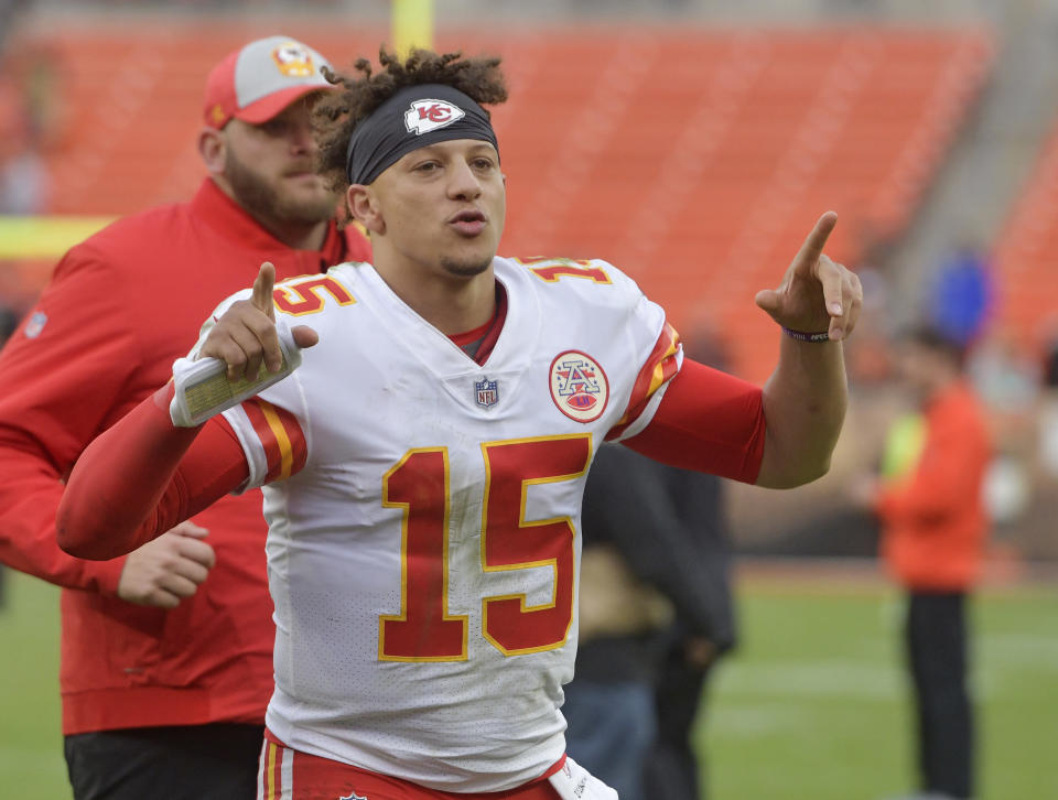 Kansas City Chiefs quarterback Patrick Mahomes is an (almost) perfect new superstar for the NFL. (AP)