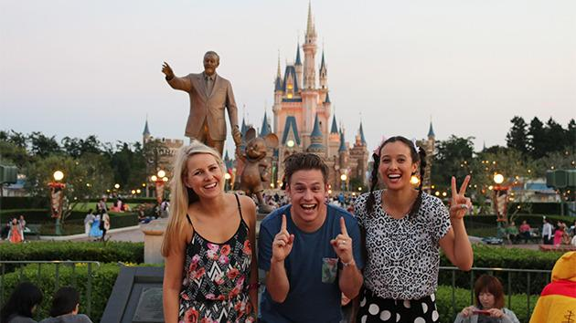 We had a blast in Japan! Here are some of our happy snaps from Tokyo and Disneyland!