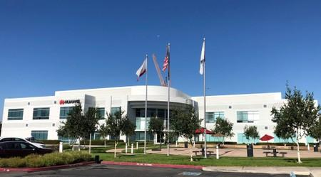 The Silicon Valley office of Huawei and its U.S. subsidiary Futurewei Technologies Inc. in Santa Clara