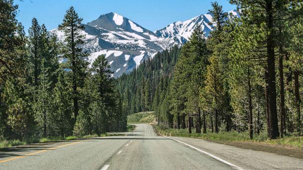 PHOTO: Highway 395 is seen near Mammoth Lakes, California. (Campphoto/Getty Images)