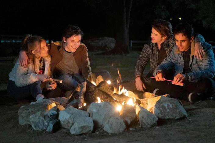 """<p><strong>Love, Victor</strong> is a spinoff of the hit film <strong>Love, Simon</strong>, and it follows teenager Victor as he navigates high school, his home life, and his sexuality. Along the way, Victor finds himself experiencing his first love (and first heartbreak) in this warm and inclusive teen show about all of the drama that goes along with growing up. </p> <p><a href=""""https://www.hulu.com/series/3cb4c446-d459-41a2-97d2-2ea9ed164ab7"""" class=""""link rapid-noclick-resp"""" rel=""""nofollow noopener"""" target=""""_blank"""" data-ylk=""""slk:Watch Love, Victor on Hulu."""">Watch <strong>Love, Victor</strong> on Hulu.</a></p>"""