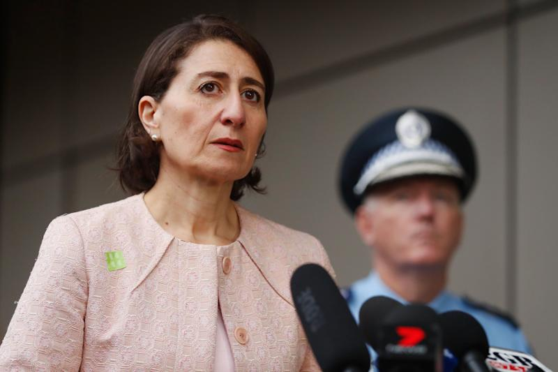 Premier of NSW, Gladys Berejiklian (Photo by Brendon Thorne/Getty Images) (Photo: Getty Images)