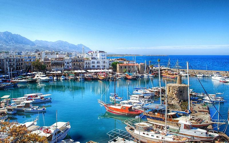 kyrenia old harbour - getty