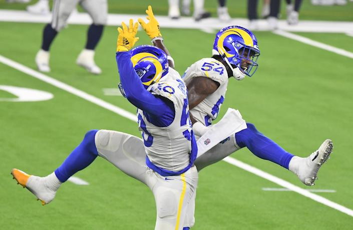 National Football League  referee explains Michael Gallup's pass interference penalty in Cowboys-Rams game