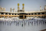 This year's hajj is the smallest in modern times