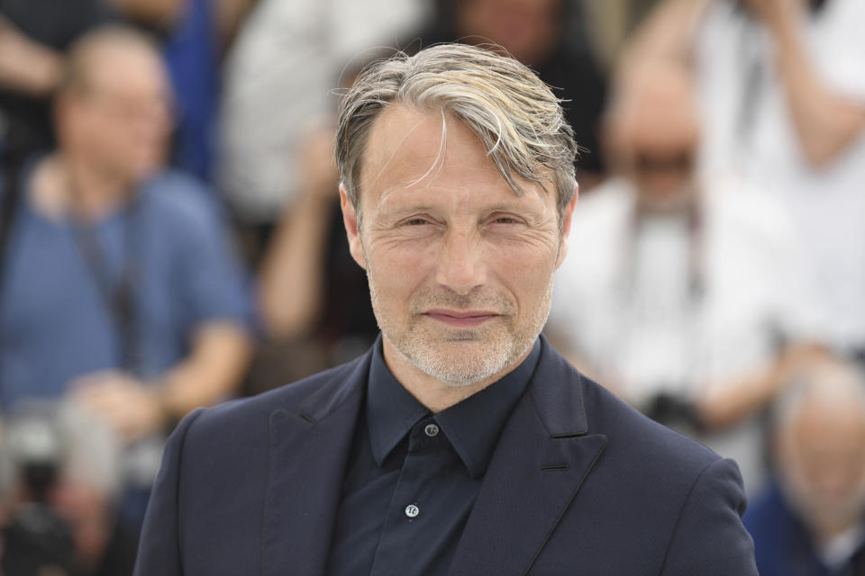 Actor Mads Mikkelsen poses for photographers during a photo call for the film 'Arctic' at the 71st international film festival, Cannes, southern France, Thursday, May 10, 2018. (Photo by Arthur Mola/Invision/AP)