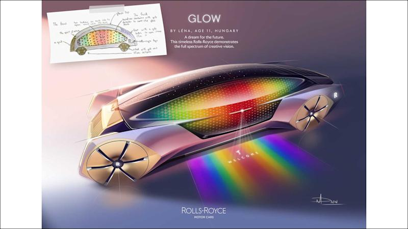 Rolls-Royce Young Designer Competition Winners Glow
