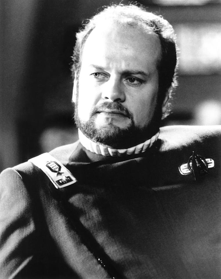 "<p>Frasier Crane <a rel=""nofollow"" href=""https://www.youtube.com/watch?v=iHsr7Chmff8"">in spaaaaaace</a>? Not quite. In a one-shot 1992 appearance on <em>TNG</em>, Grammer played Captain Morgan Bateson, ranking officer aboard the 23rd century starship the USS Bozeman who finds himself in the 24th century thanks to a serious case of temporal distortion. That'll toss your salad and scramble your eggs.<br /><br />(Photo: Everett Collection) </p>"