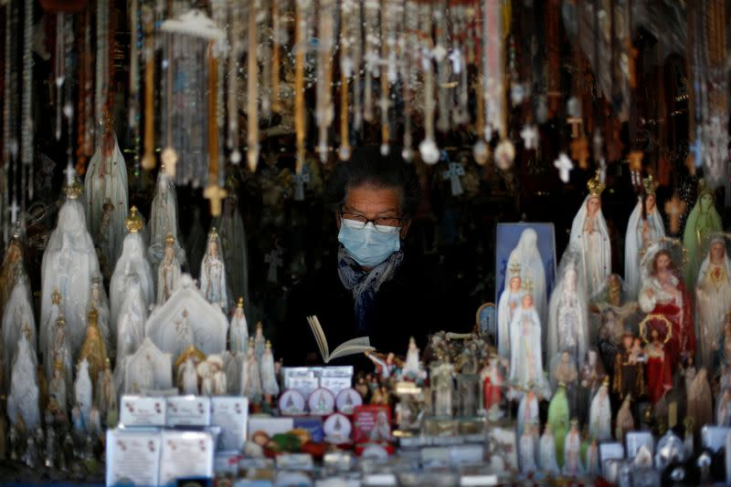 Praying for a miracle? COVID curbs hit Portuguese shrine's tourist trade