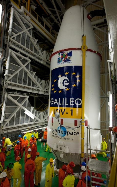 European Space Agency's Galileo programe - Credit: Getty