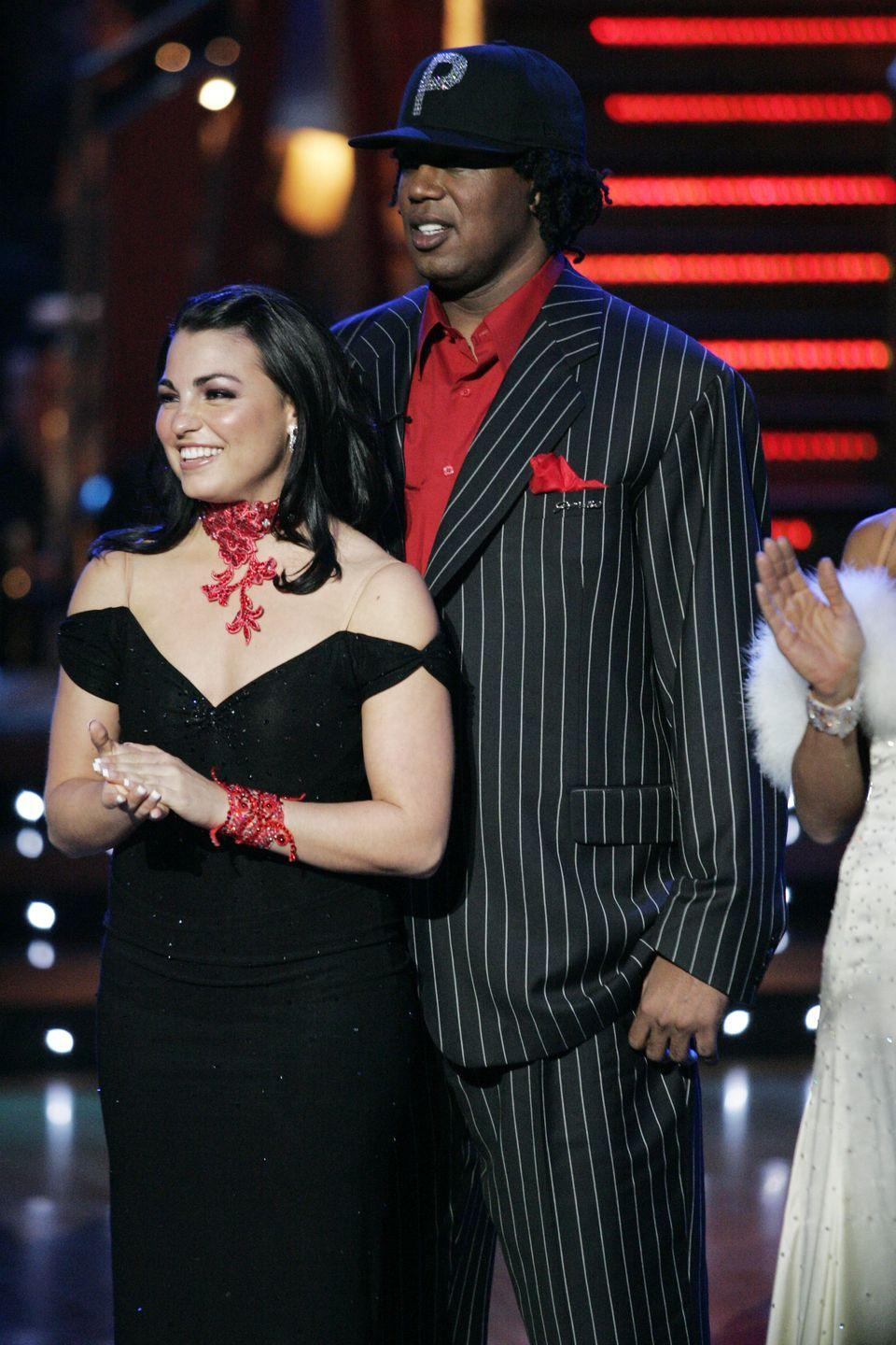 <p>Master P joined the show in season 2 as a replacement for his son, Romeo, who dropped out due to an injury. Unfortunately, the father's nice gesture was derailed by his lack of dance skills. After a stiff paso doble routine, the musician received the lowest score ever given on the show: 8/30. Ouch.</p>