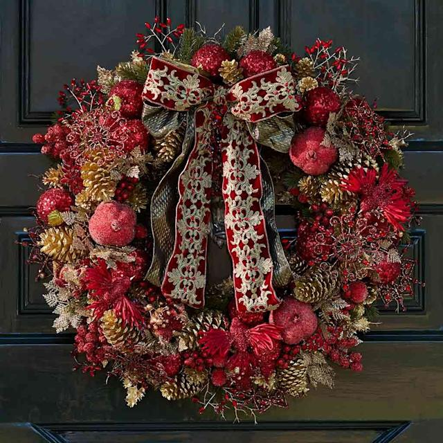 The society bible insist that you must have a wreath by Pulbrook & Gould [Image: Pulbrook & Gould]