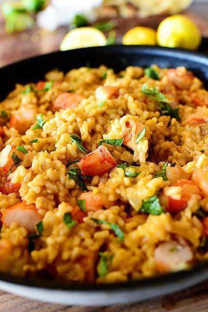 """<p>There are few things that say """"special occasion"""" quite like risotto. Here, it features the elegant addition of shrimp.</p><p><strong><a href=""""https://www.thepioneerwoman.com/food-cooking/recipes/a11773/lemon-basil-shrimp-risotto/"""" rel=""""nofollow noopener"""" target=""""_blank"""" data-ylk=""""slk:Get the recipe"""" class=""""link rapid-noclick-resp"""">Get the recipe</a>.</strong></p><p><a class=""""link rapid-noclick-resp"""" href=""""https://go.redirectingat.com?id=74968X1596630&url=https%3A%2F%2Fwww.walmart.com%2Fsearch%2F%3Fquery%3Ddinnerware&sref=https%3A%2F%2Fwww.thepioneerwoman.com%2Ffood-cooking%2Fmeals-menus%2Fg35589850%2Fmothers-day-dinner-ideas%2F"""" rel=""""nofollow noopener"""" target=""""_blank"""" data-ylk=""""slk:SHOP PLATES"""">SHOP PLATES </a></p>"""