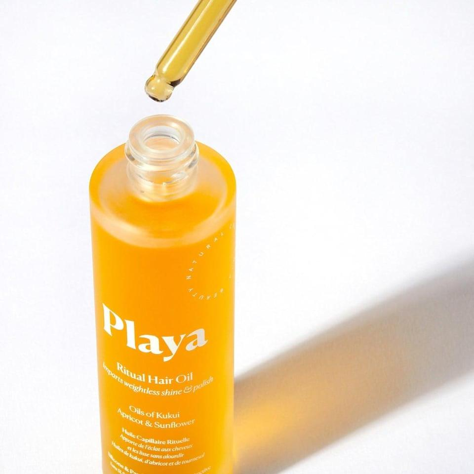 <p>The <span>Playa Ritual Hair Oil</span> ($38) smells divine without being overpowering and potent. It's sultry and warm yet tropical and sweet. If Sex on a Beach was a scent, this is it. It coats your hair with a slight hint of fragrance without clashing with other scents. </p>