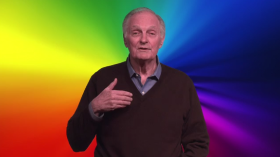 Actor Alan Alda Challenges Scientists to Explain Color to Kids