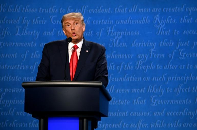 US President Donald Trump criticizes India and China during his final debate with Democrat Joe Biden