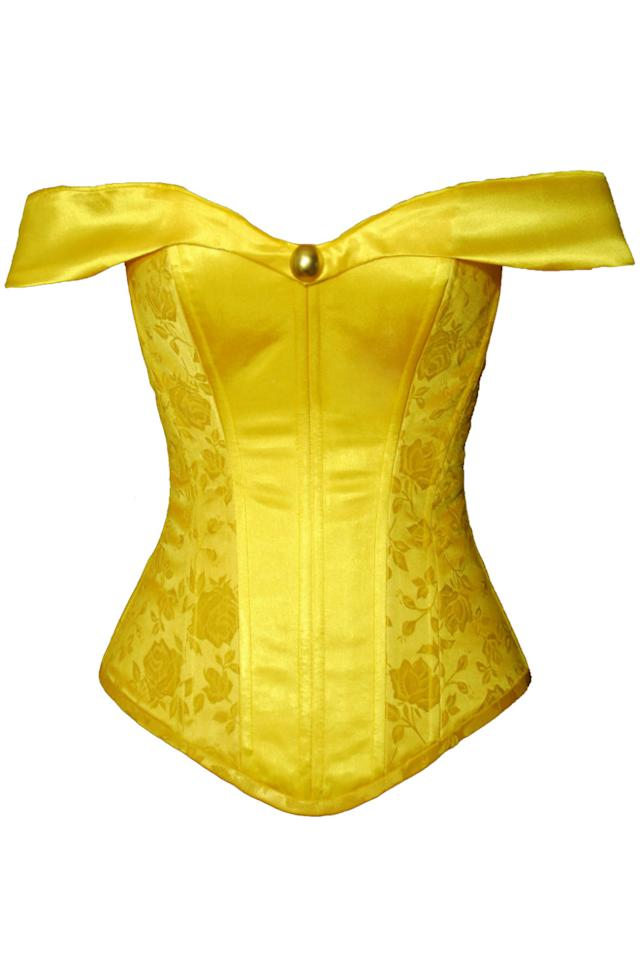 "<p><em>Belle-Inspired Over-Bust Corset, ETSY, $260</em></p><p><a rel=""nofollow"" href=""https://www.etsy.com/listing/177943095/belle-inspired-overbust-steel-boned?ref=shop_home_active_40"">BUY NOW</a></p>"