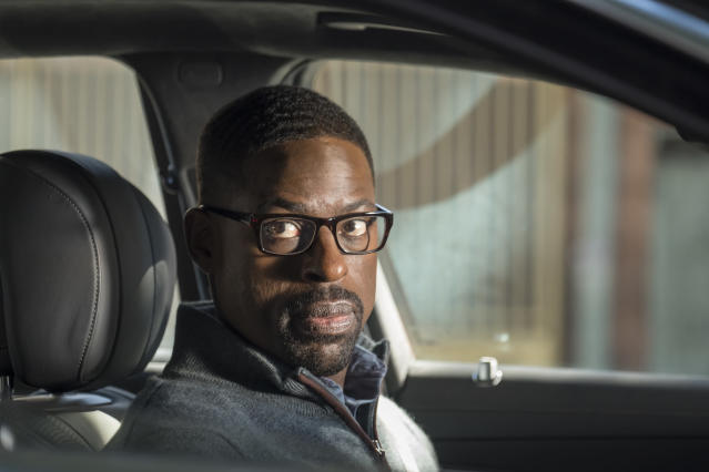 <p>Sterling K. Brown as Randall in NBC's <i>This Is Us</i>.<br> (Photo: Ron Batzdorff/NBC) </p>