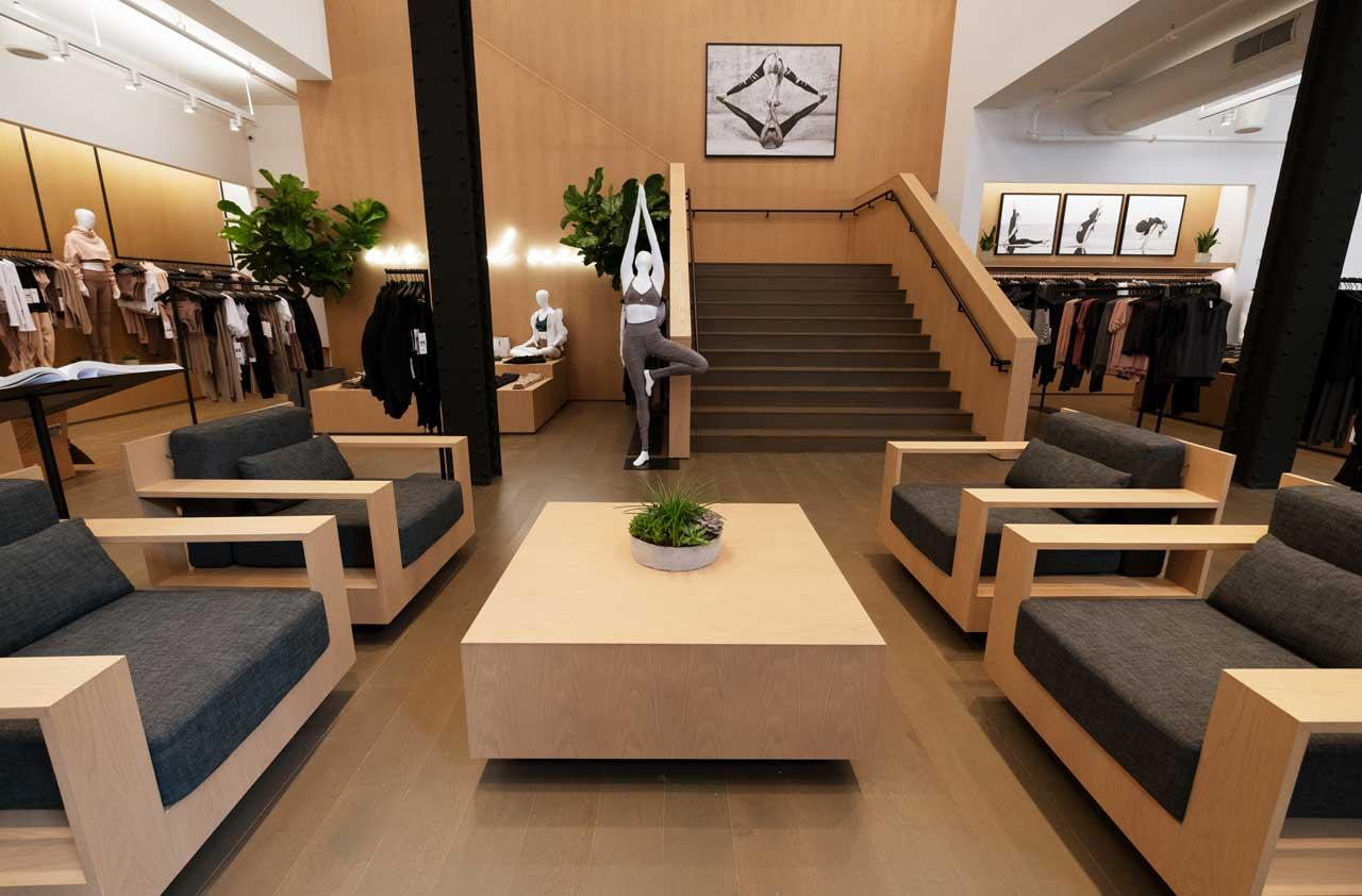 <p>This is the first Alo store located in NYC with more slated to open in the near future. Alo has three other store locations in Los Angeles. (Photo: courtesy of Alo) </p>