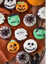 """<p>Most of the cupcakes you see here don't require any professional piping tips to make, which means they're perfect for novice bakers. There's also no fondant involved.</p><p><strong>Get the recipe at <a href=""""https://preppykitchen.com/halloween-cupcakes/"""" rel=""""nofollow noopener"""" target=""""_blank"""" data-ylk=""""slk:Preppy Kitchen"""" class=""""link rapid-noclick-resp"""">Preppy Kitchen</a>.</strong></p><p><strong><a class=""""link rapid-noclick-resp"""" href=""""https://go.redirectingat.com?id=74968X1596630&url=https%3A%2F%2Fwww.walmart.com%2Fsearch%2F%3Fquery%3Dpumpkin%2Bcookie%2Bcutters&sref=https%3A%2F%2Fwww.thepioneerwoman.com%2Ffood-cooking%2Fmeals-menus%2Fg32110899%2Fbest-halloween-desserts%2F"""" rel=""""nofollow noopener"""" target=""""_blank"""" data-ylk=""""slk:SHOP MUFFIN TINS"""">SHOP MUFFIN TINS</a><br></strong></p>"""