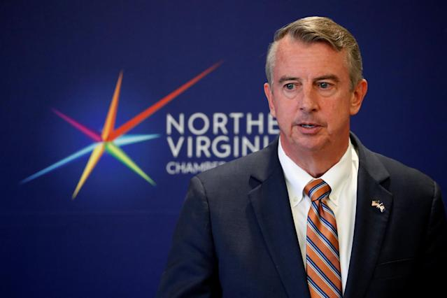 GOP gubernatorial candidate Ed Gillespie speaks at a campaign event in Tysons, Va, Oct. 26, 2017. (Photo: Jonathan Ernst/Reuters)