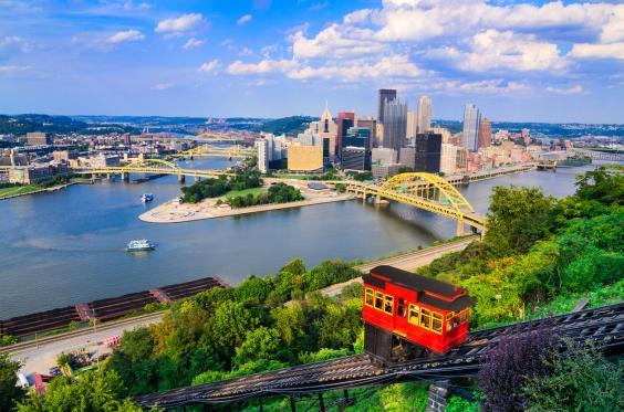 The best views are from the top of the funicular (Getty/iStockphoto)