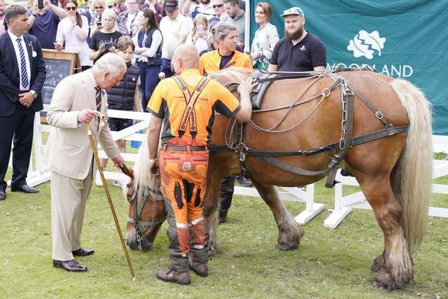 Royal visit to the Great Yorkshire Show