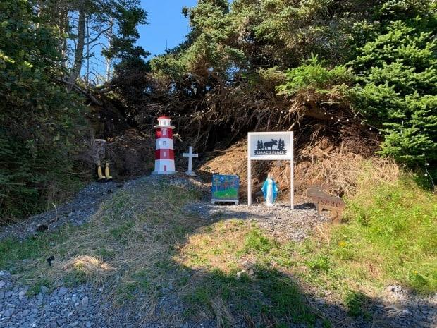 A memorial now stands in Doughboy Cove where fishermen discovered the body of Isaac Kettle.