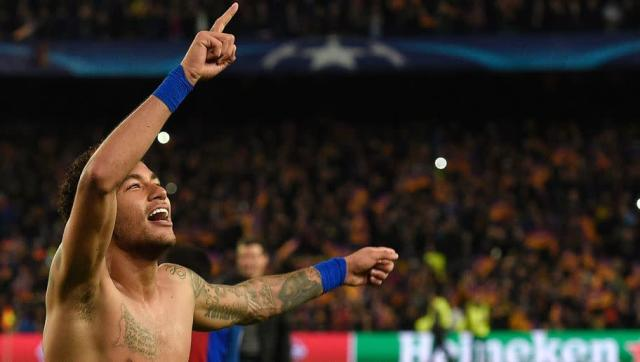"""Brazil star Neymar has hinted that he could one day make a move to the Premier League during an interview in which he listed a handful of clubs that could entice him to make the move. The forward made his 500th appearance on Sunday, number 176 for Barcelona, and has racked up an impressive 304 goals during his already illustrious career - many of which have easily been goal of the season contenders... Speaking to the Sun at a PokerStars event, the 25-year-old said: """"The Premier League is a..."""