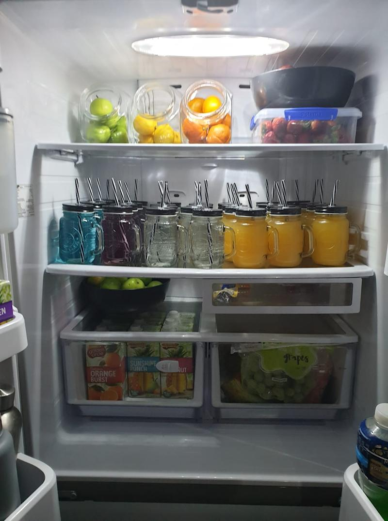 Kmart mason jar fridge hack image drinks fridge sparks outrage
