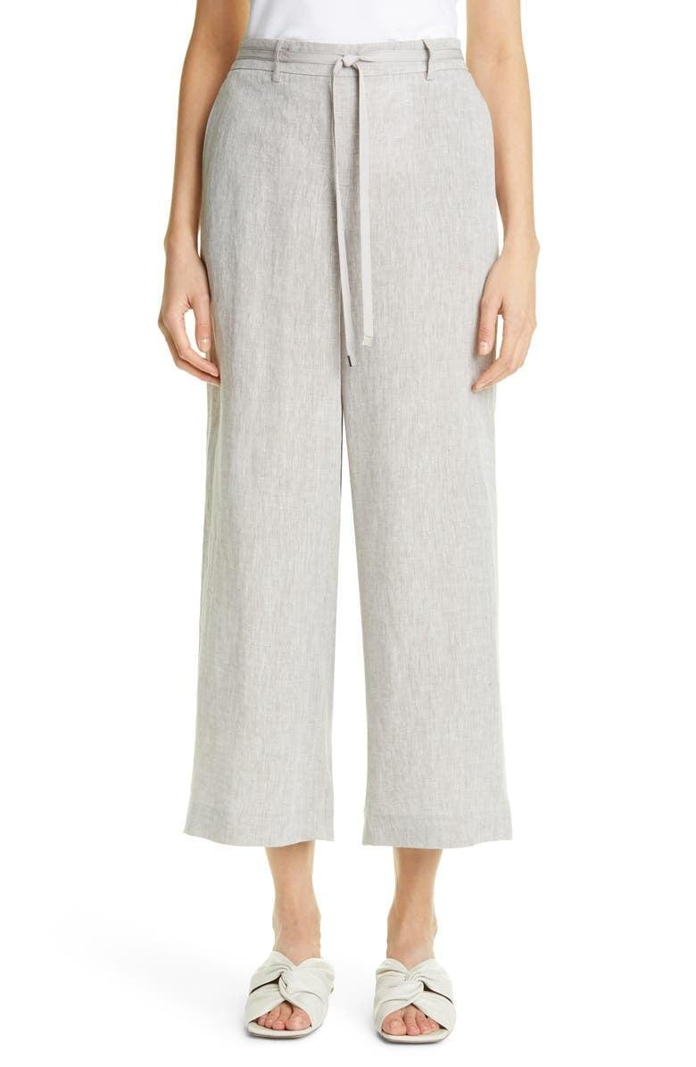 <p>For the days it feels too hot to get dressed but you can't rock shorts to work, we'd go for the <span>Lafayette 148 New York Columbus Wide Leg Crop Pants</span> ($398). The breathable material is cool, comfy, and exactly what you need. Simply throw on sandals and a tank, and you'll look polished and ready for the day.</p>